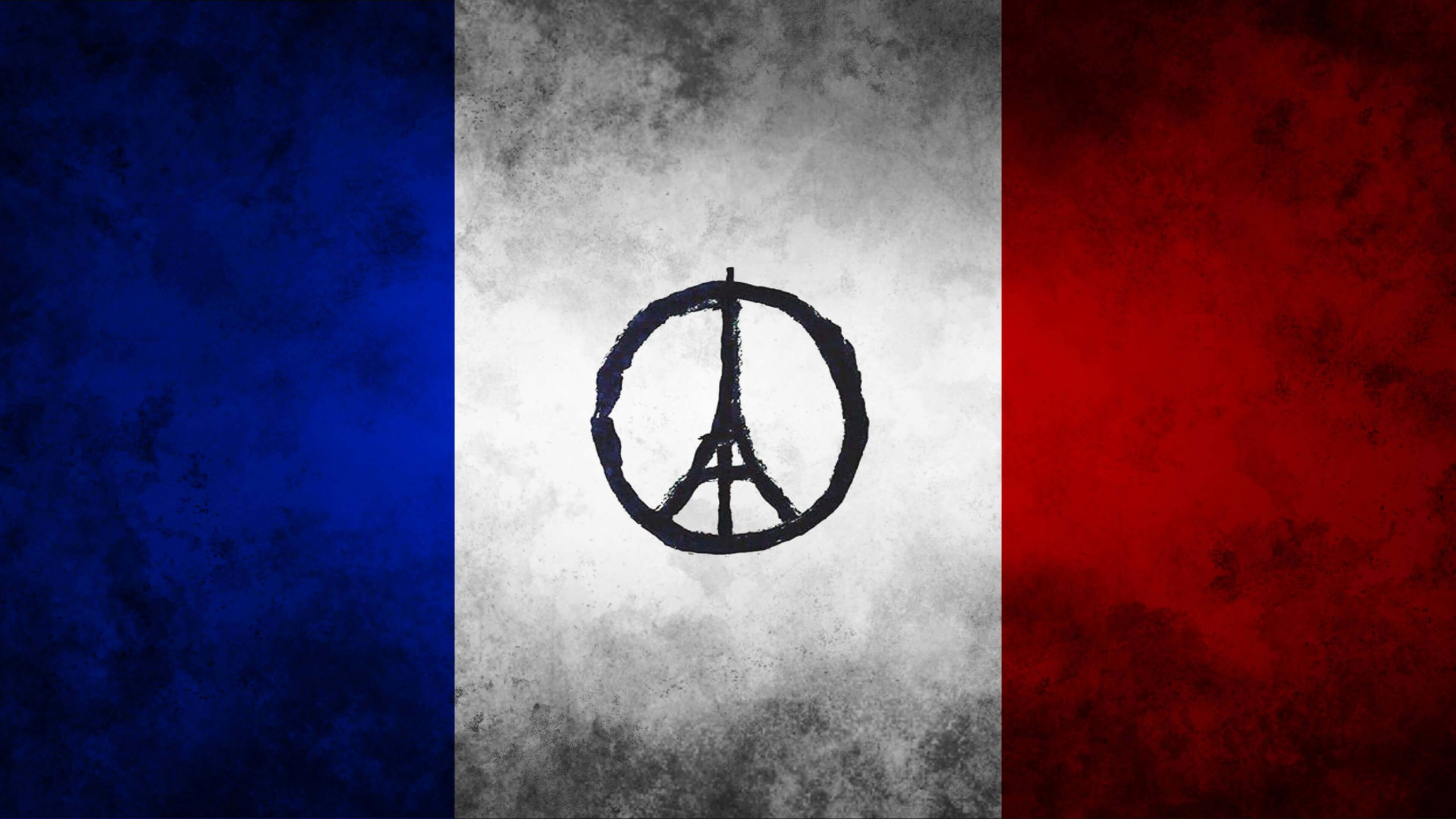 Download pray for paris hd wallpaper for 2560 x 1440 for Wallpaper for