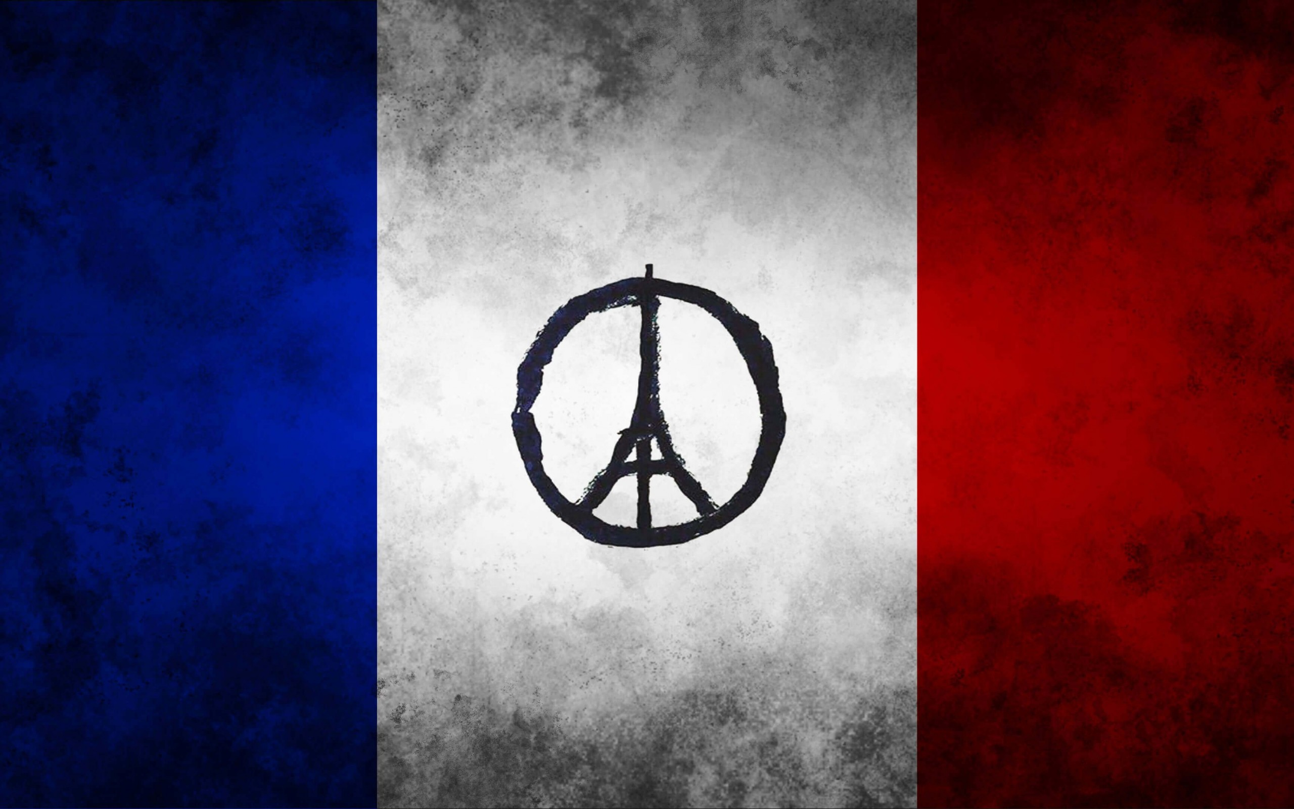 Download Pray For Paris HD Wallpaper For 2560 X 1600