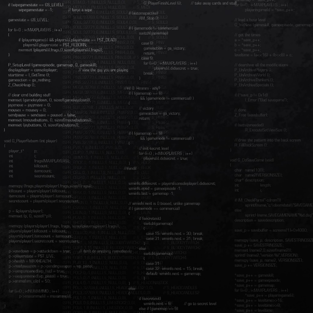 Programming Wallpaper for Apple iPad 2