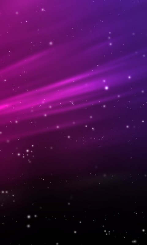 Purple Aurora Sparks Wallpaper for SAMSUNG Galaxy S3 Mini