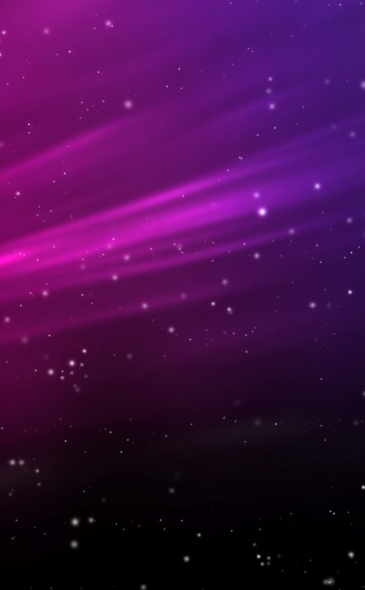 Purple Aurora Sparks Wallpaper for Apple iPhone 4 / 4s