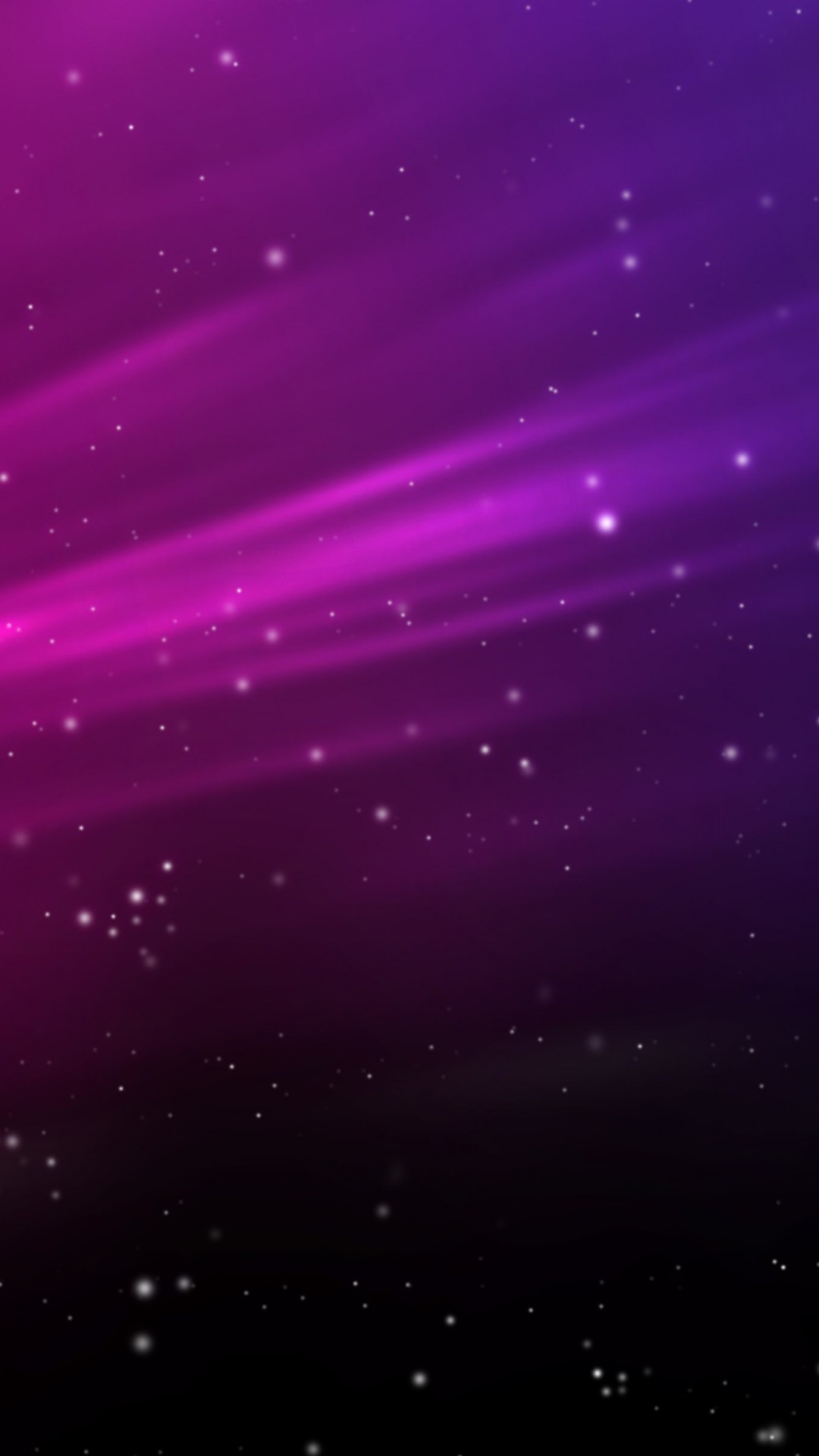 Purple Aurora Sparks Wallpaper for SONY Xperia Z2