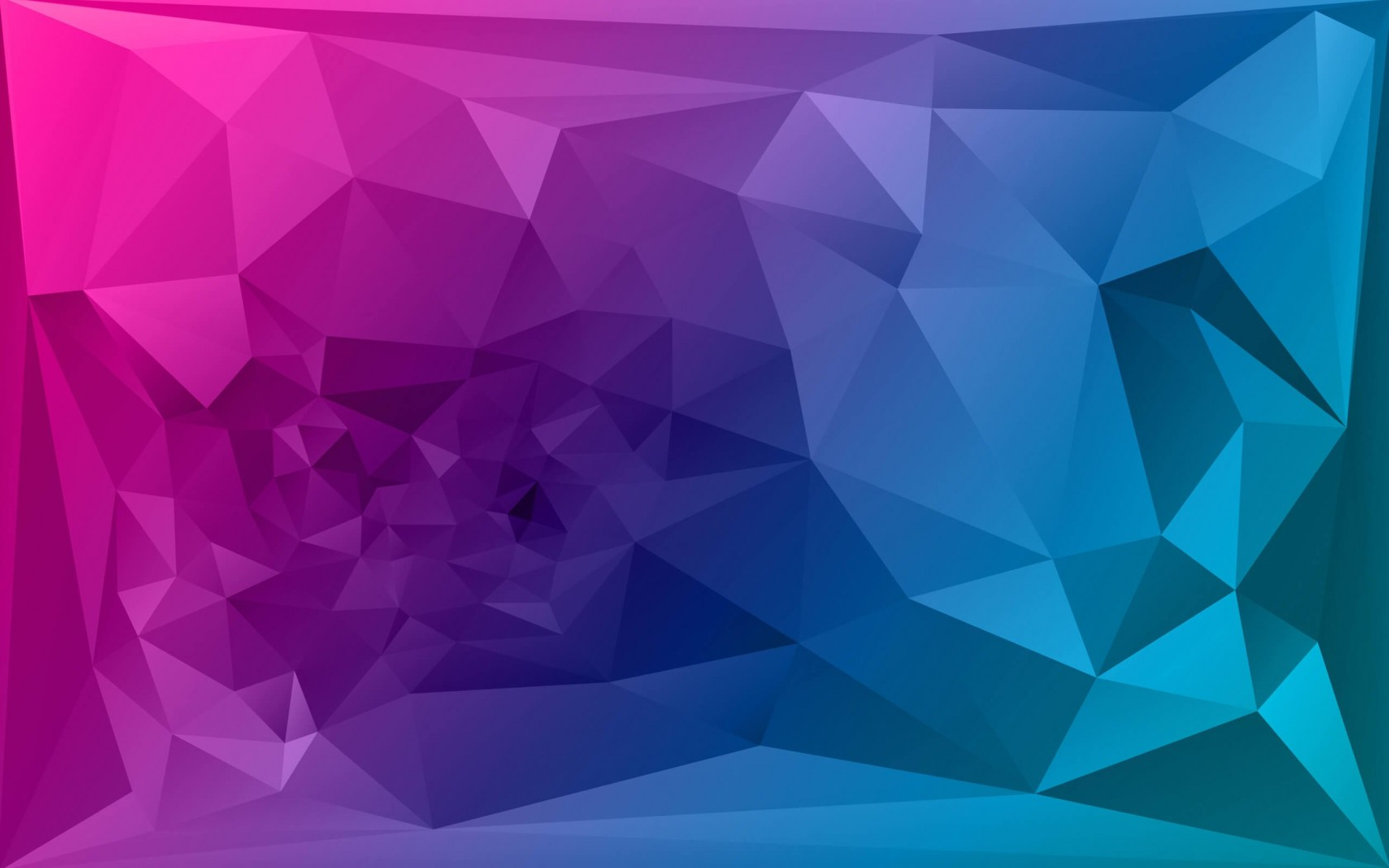 Purple Polygonal Background Wallpaper for Desktop 1680x1050
