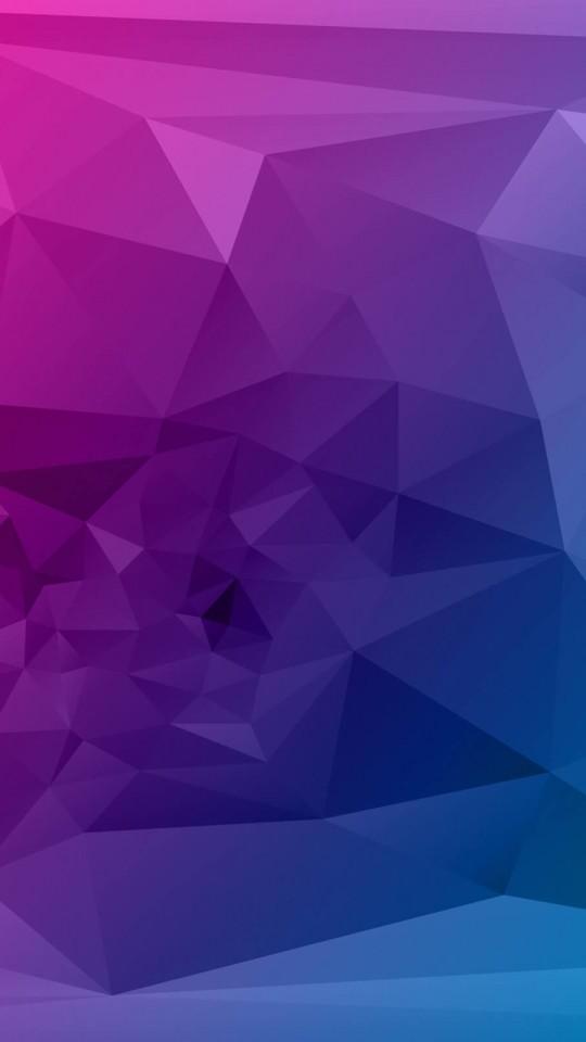 download purple polygonal background hd wallpaper for