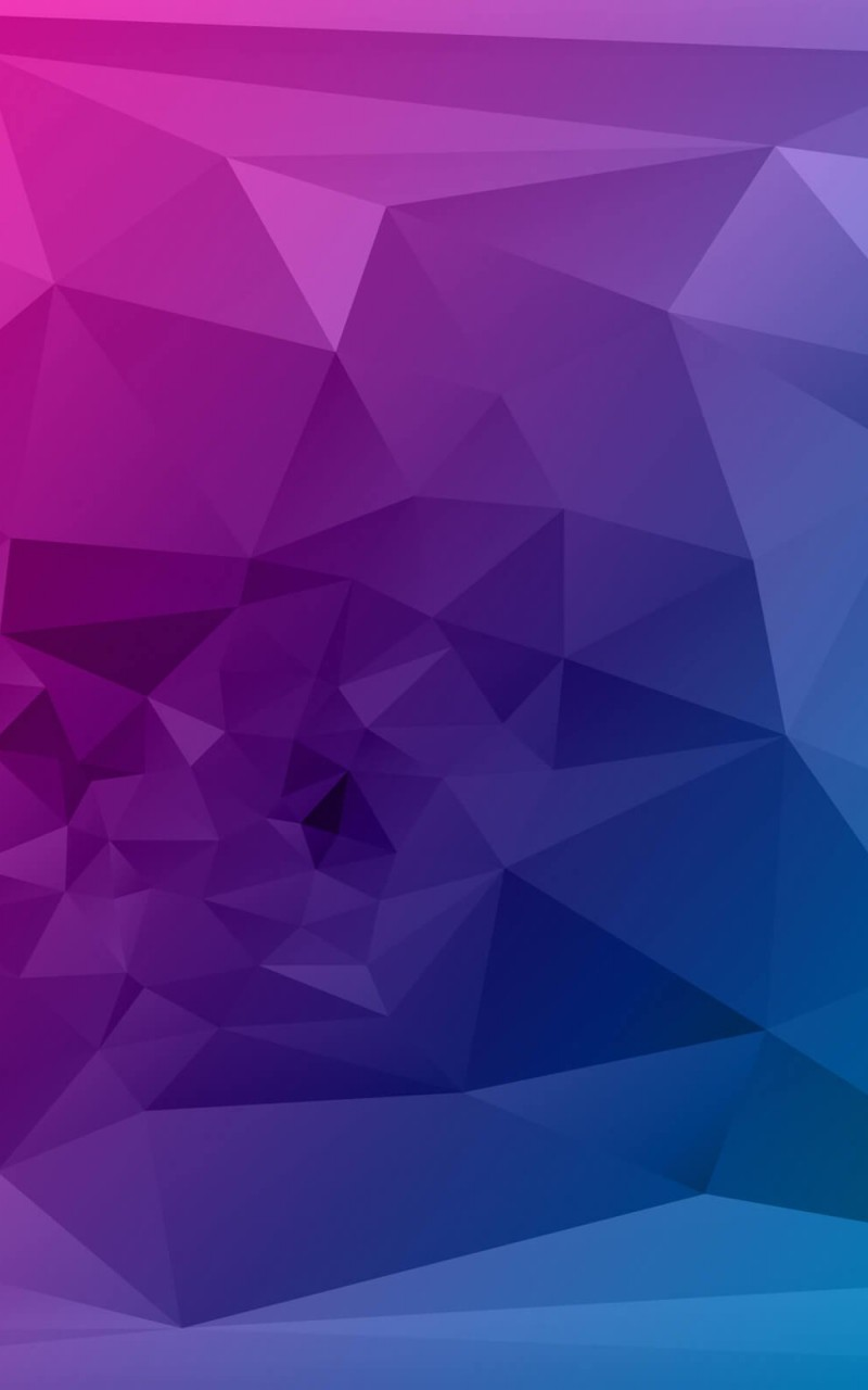 Purple Polygonal Background Wallpaper for Amazon Kindle Fire HD