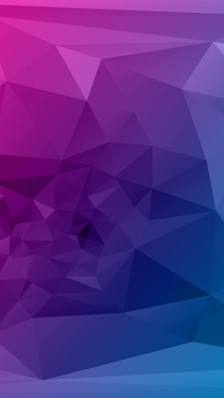 Purple Polygonal Background Wallpaper for Lenovo A6000