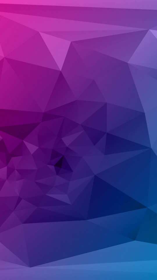 Purple Polygonal Background Wallpaper for Motorola Moto E