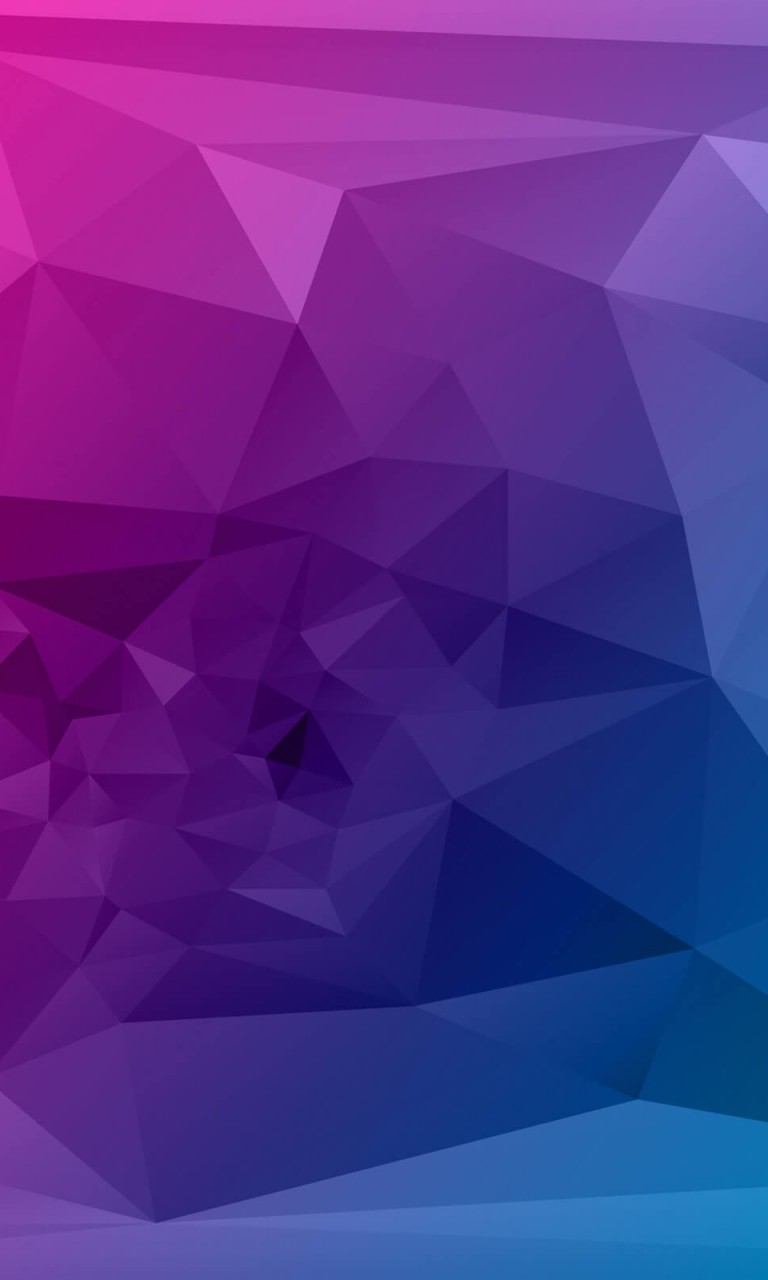 Purple Polygonal Background Wallpaper for Google Nexus 4