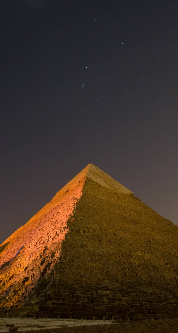 Wallpaper download iphone - Pyramid By Night Hd Wallpaper For Iphone 5 5s