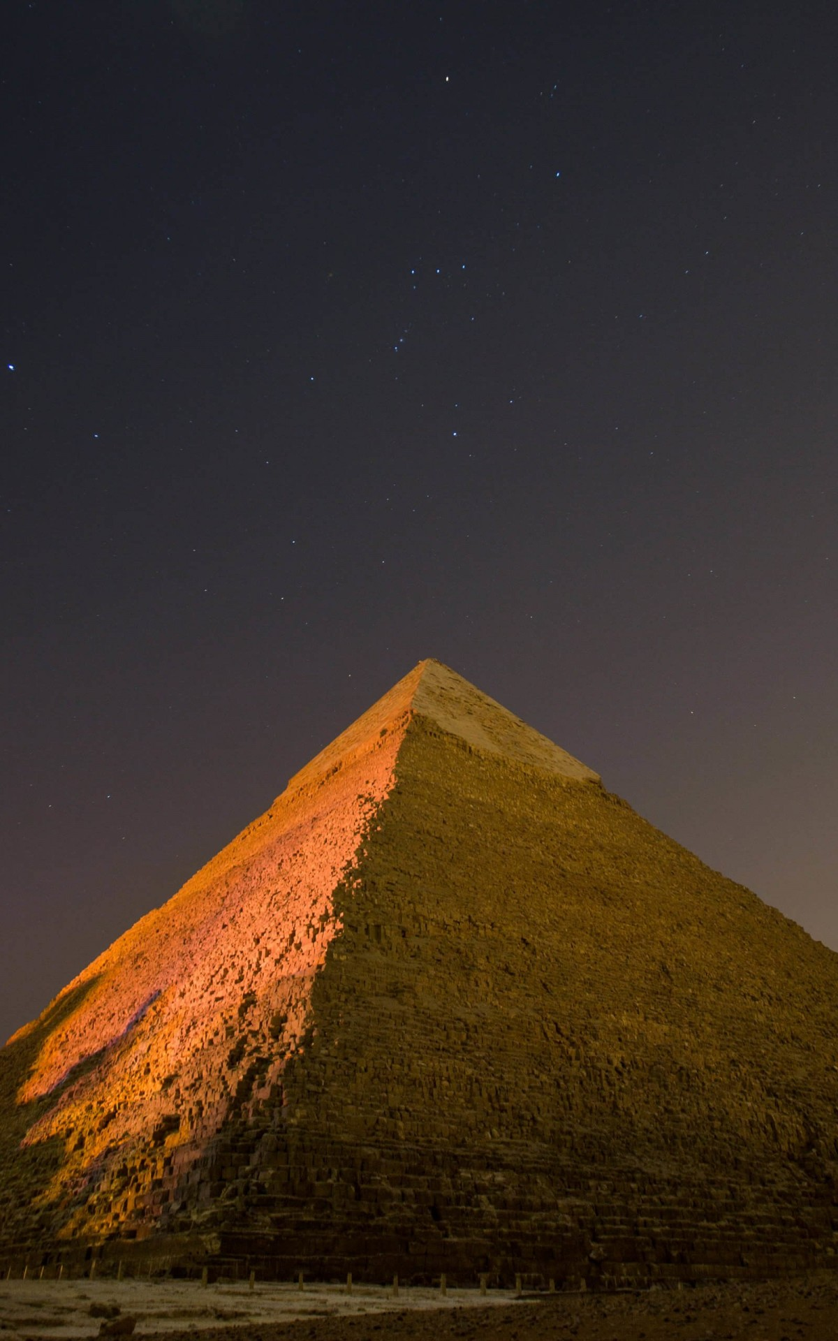 Pyramid by Night Wallpaper for Amazon Kindle Fire HDX