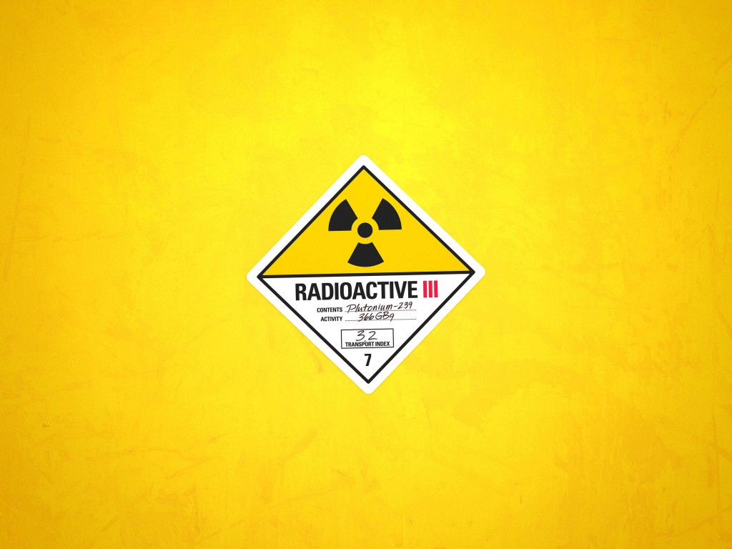 Radioactive Wallpaper for Desktop 1024x768
