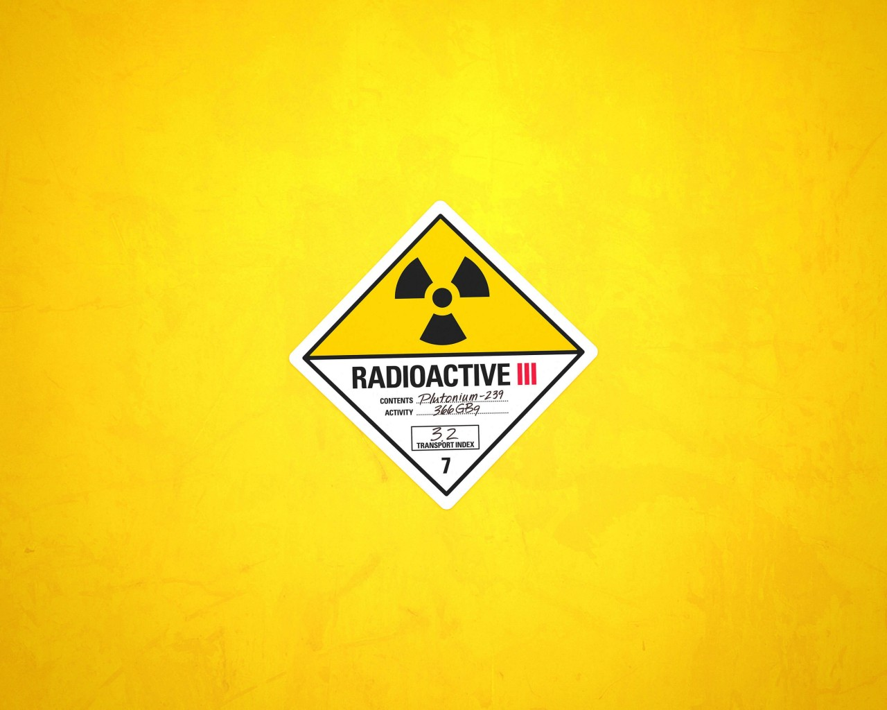 Radioactive Wallpaper for Desktop 1280x1024