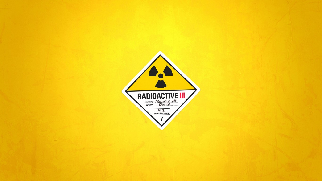 Radioactive Wallpaper for Desktop 1366x768