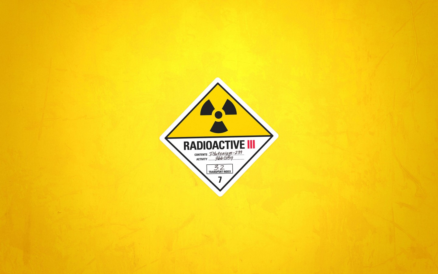 Radioactive Wallpaper for Desktop 1440x900