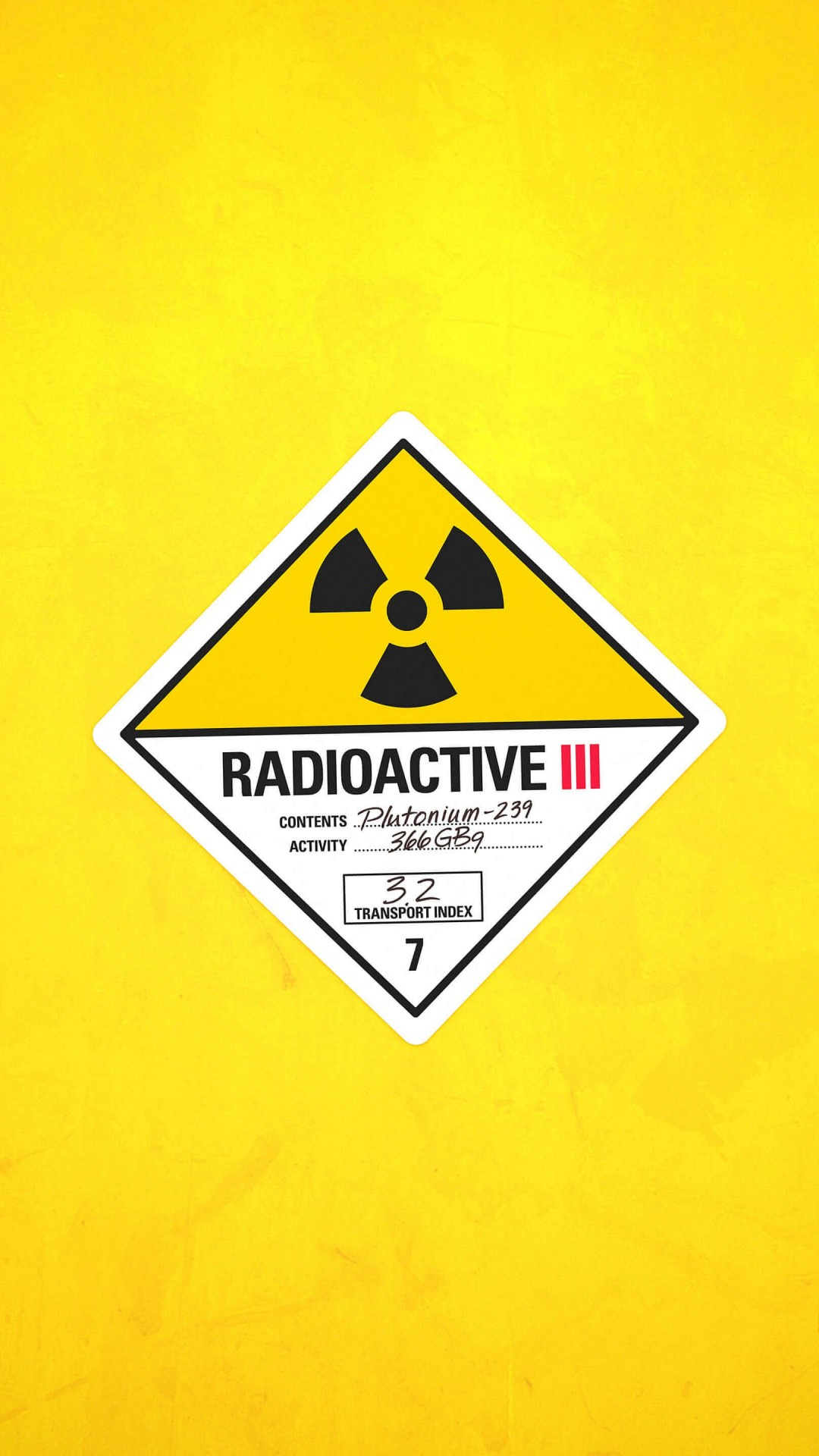 Radioactive Wallpaper for HTC One
