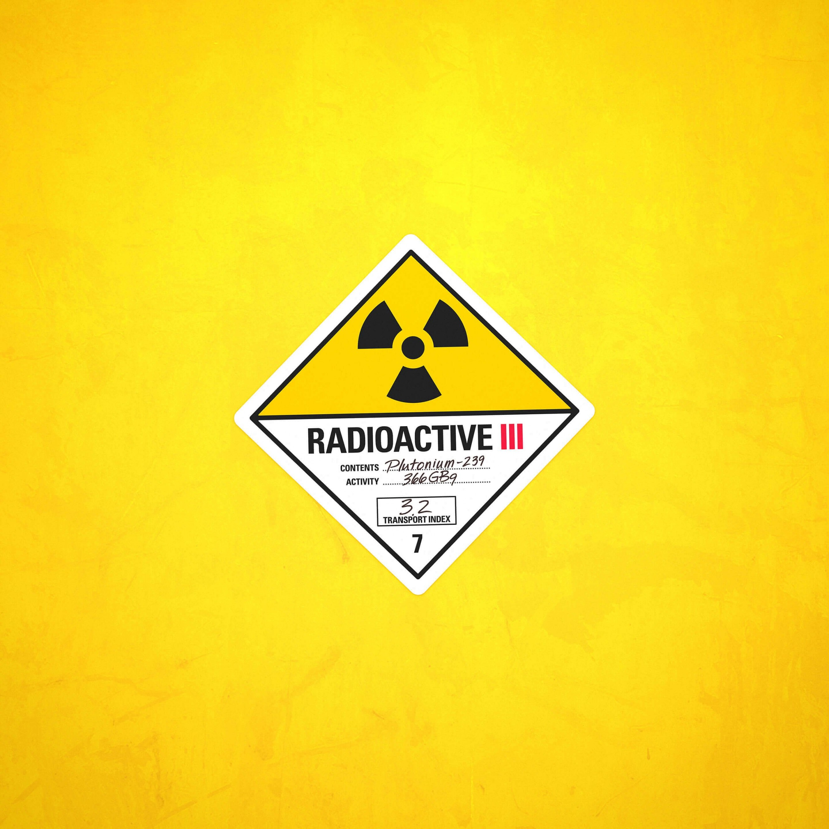 Radioactive Wallpaper for Apple iPhone 6 Plus