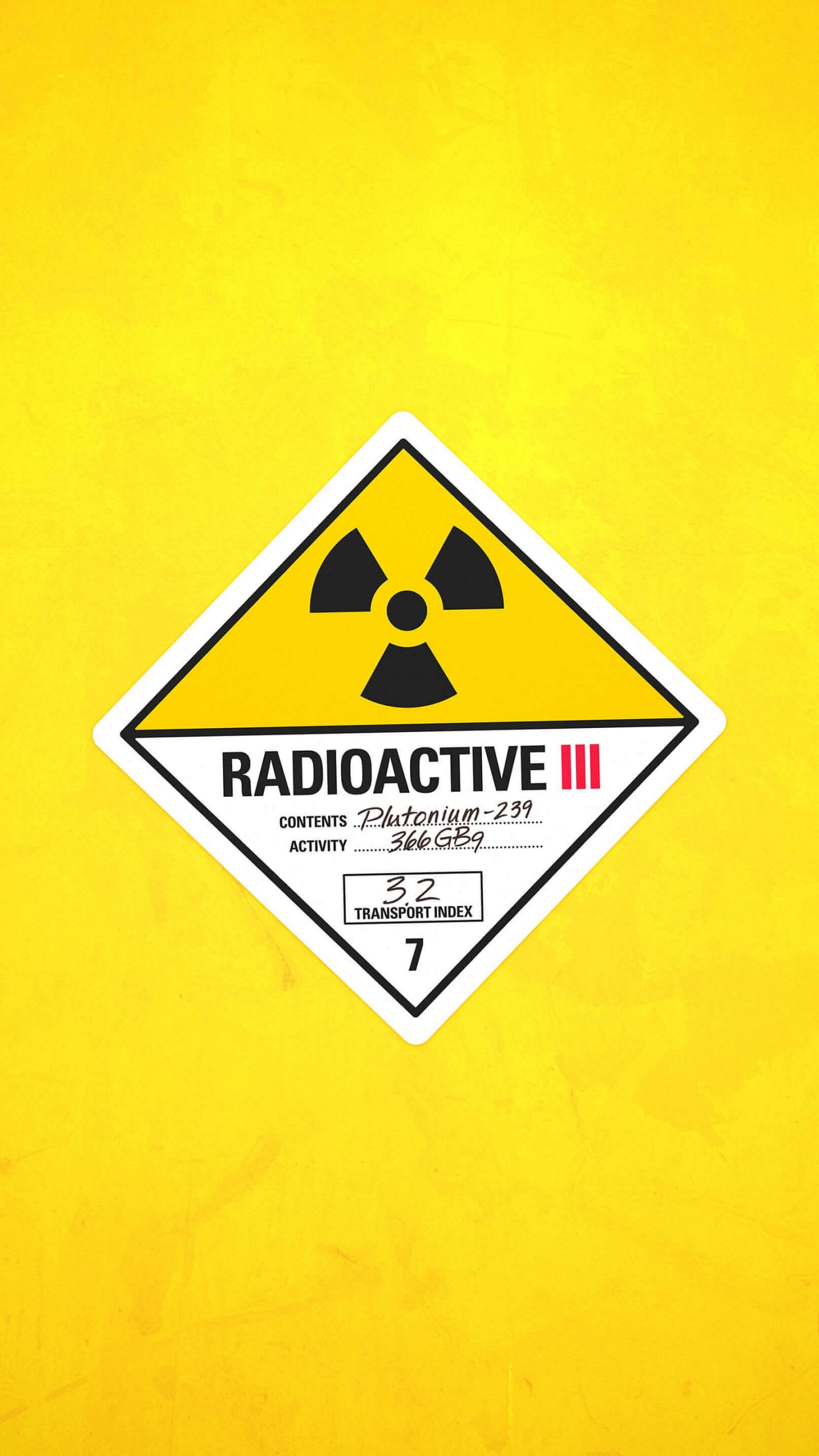 Radioactive Wallpaper for LG G3
