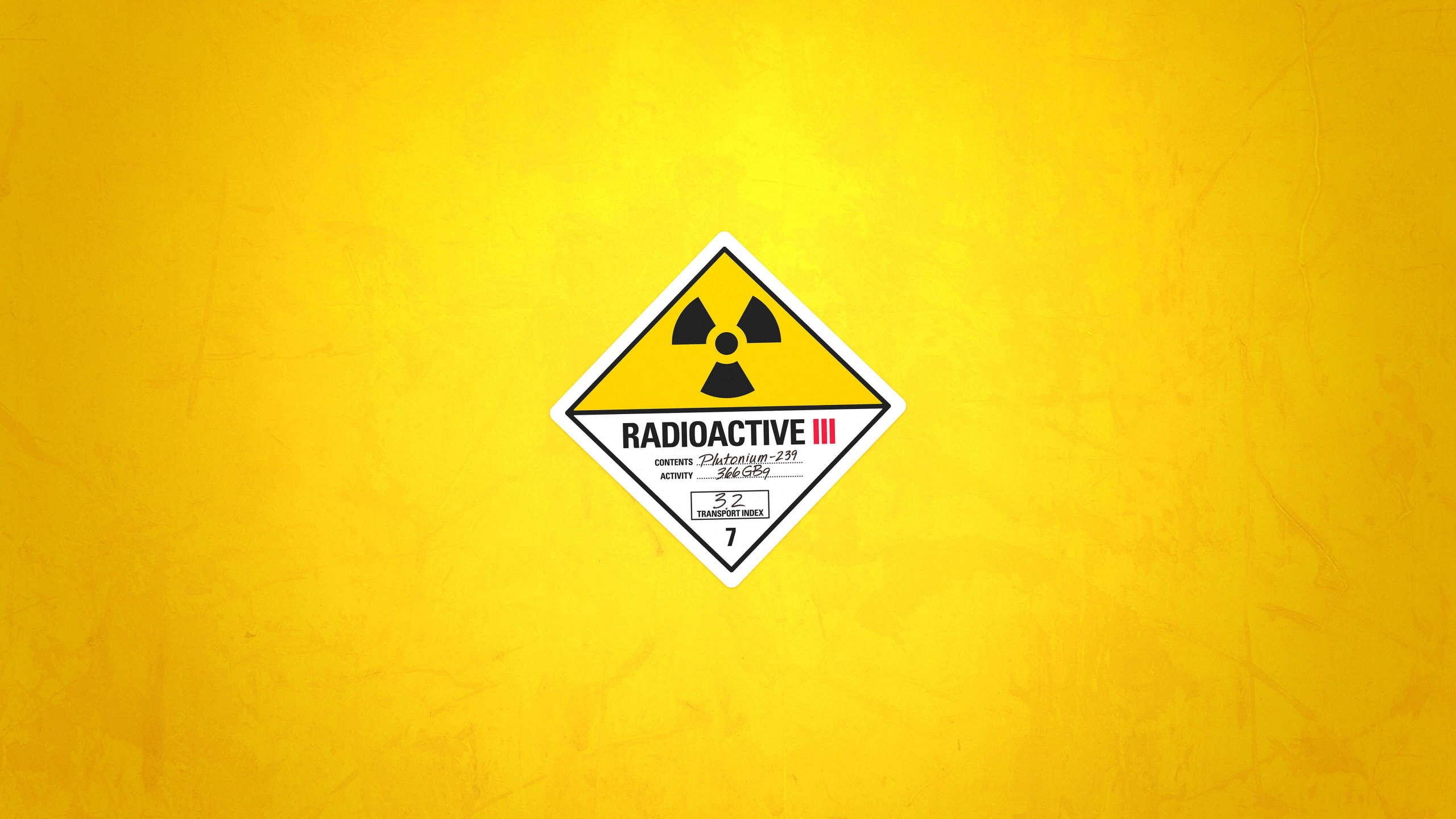 Radioactive Wallpaper for Social Media YouTube Channel Art