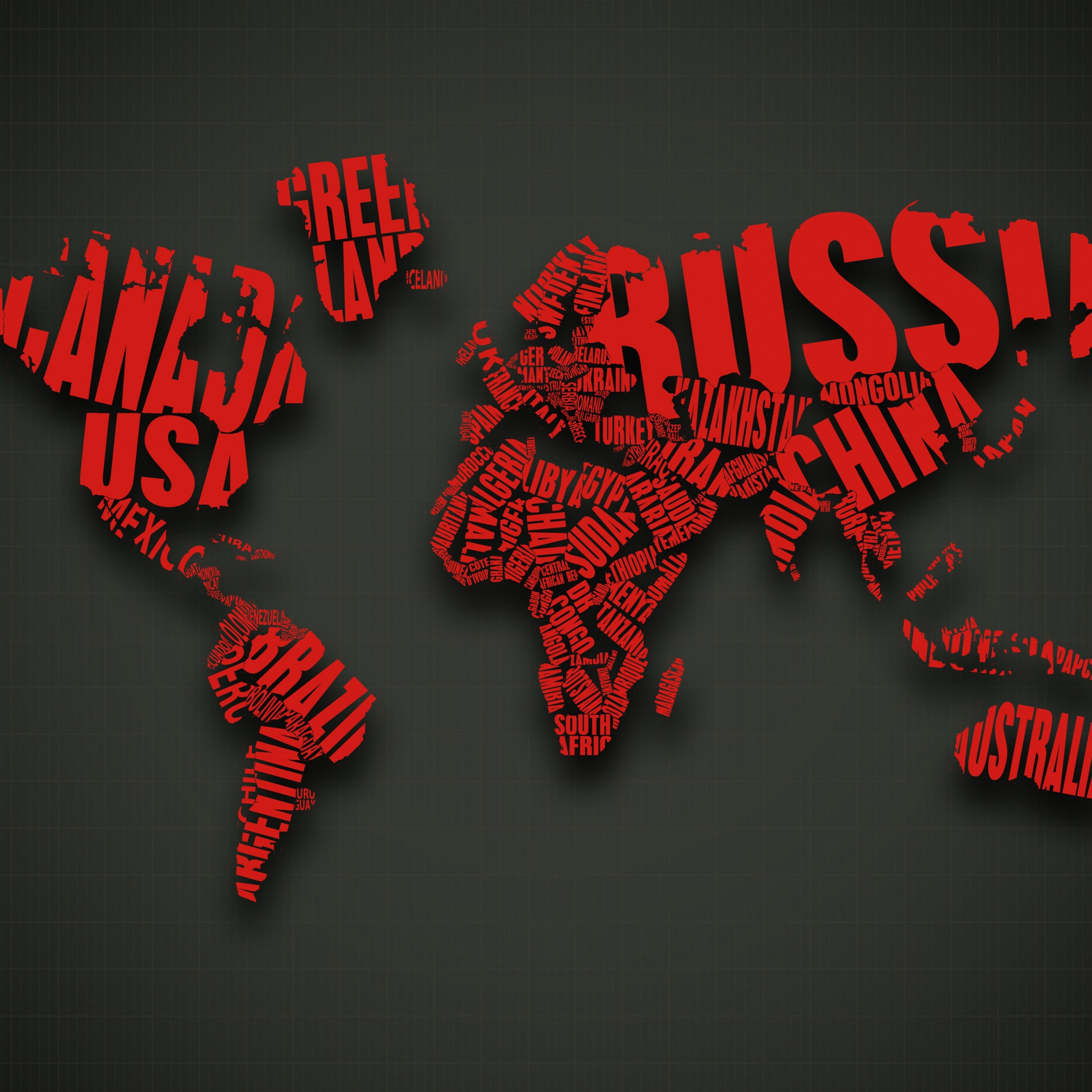 download red world map typography hd wallpaper for iphone 6 plus hdwallpapers net