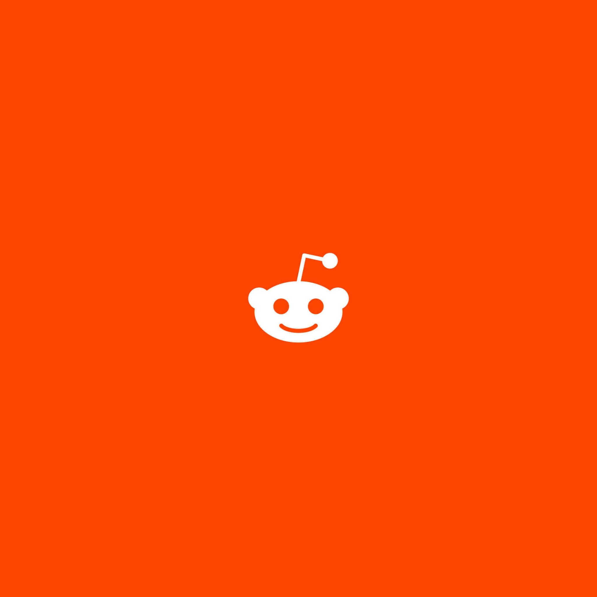 Reddit Orange Logo Wallpaper for Google Nexus 9