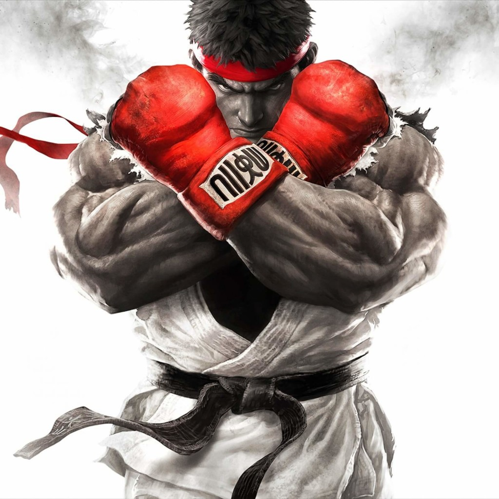 Ryu - Street Fighter Wallpaper for Apple iPad
