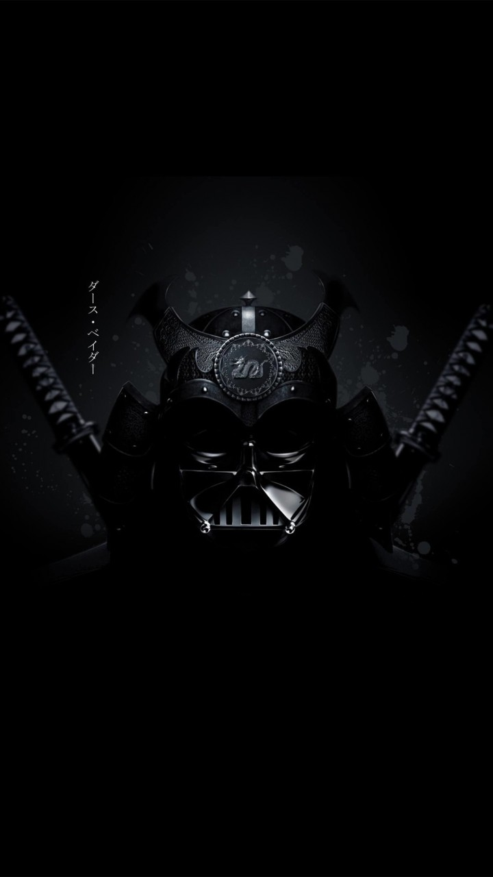 Samurai Darth Vader Wallpaper for SAMSUNG Galaxy S5 Mini