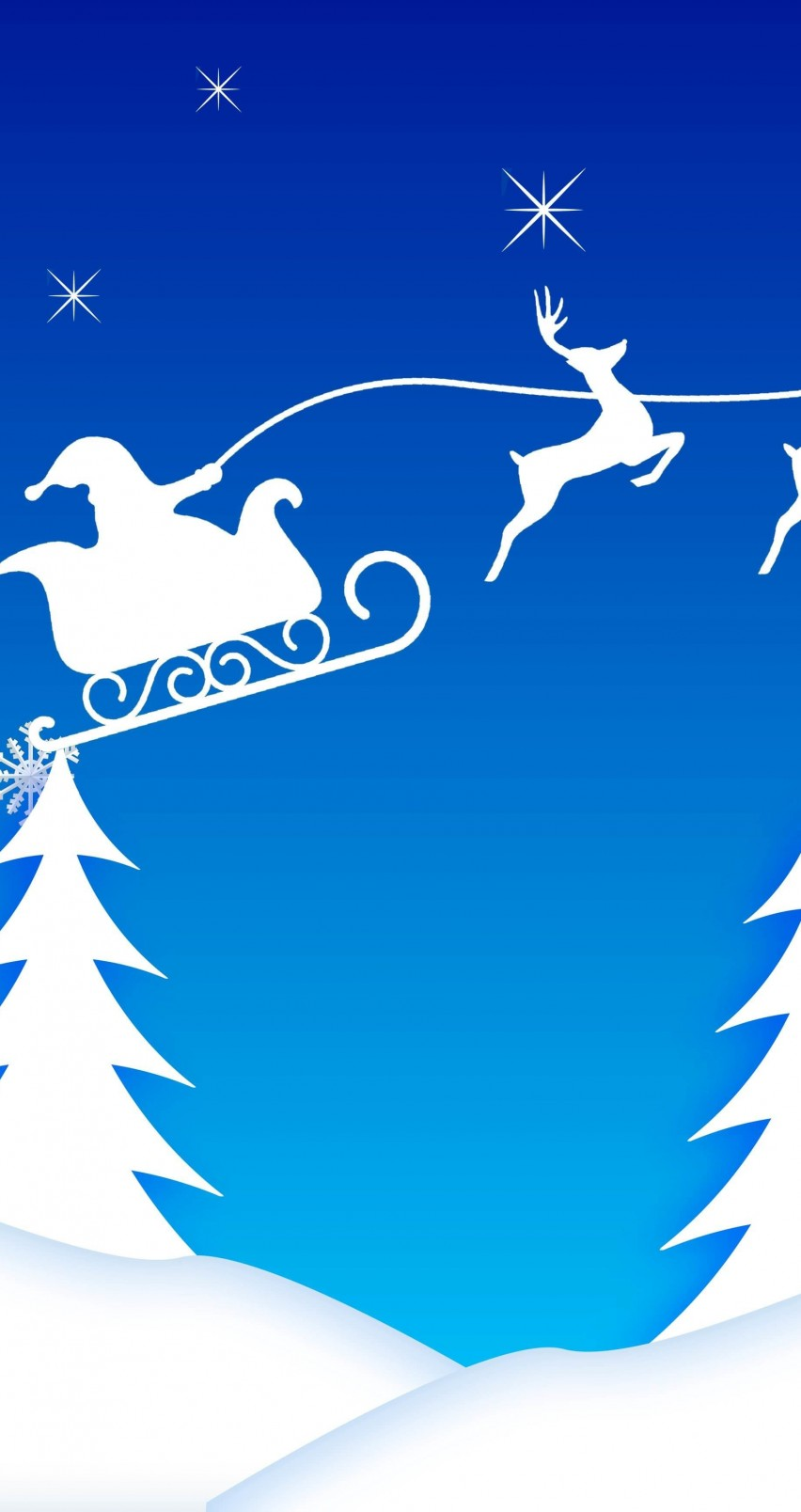 Iphone wallpapers hd - Download Santa S Sleigh Illustration Hd Wallpaper For