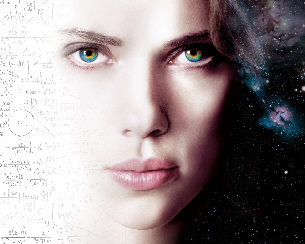 Scarlett Johansson As Lucy Wallpaper for Desktop 1280x1024