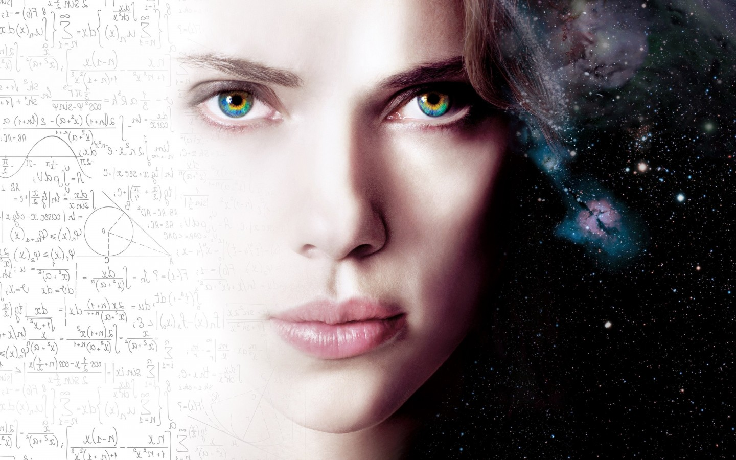 Scarlett Johansson As Lucy Wallpaper for Desktop 1440x900