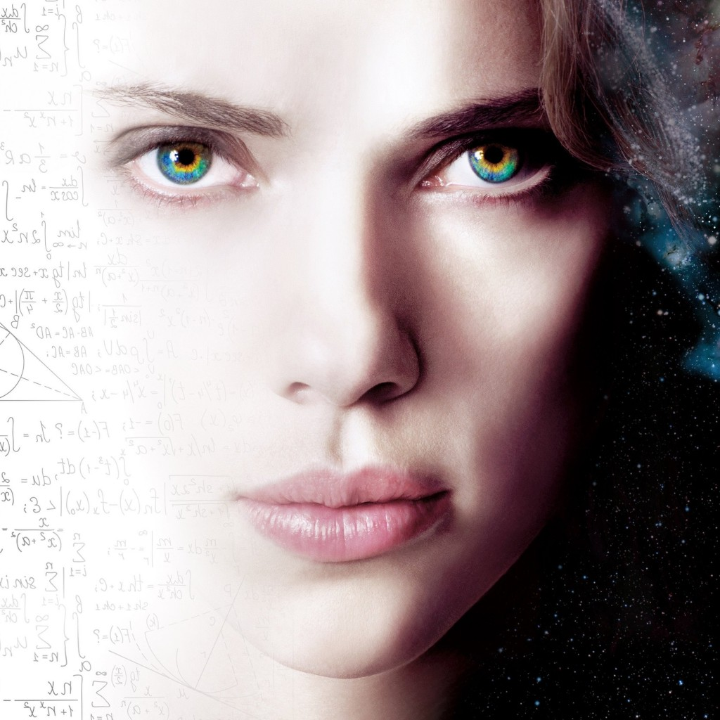 Scarlett Johansson As Lucy Wallpaper for Apple iPad 2