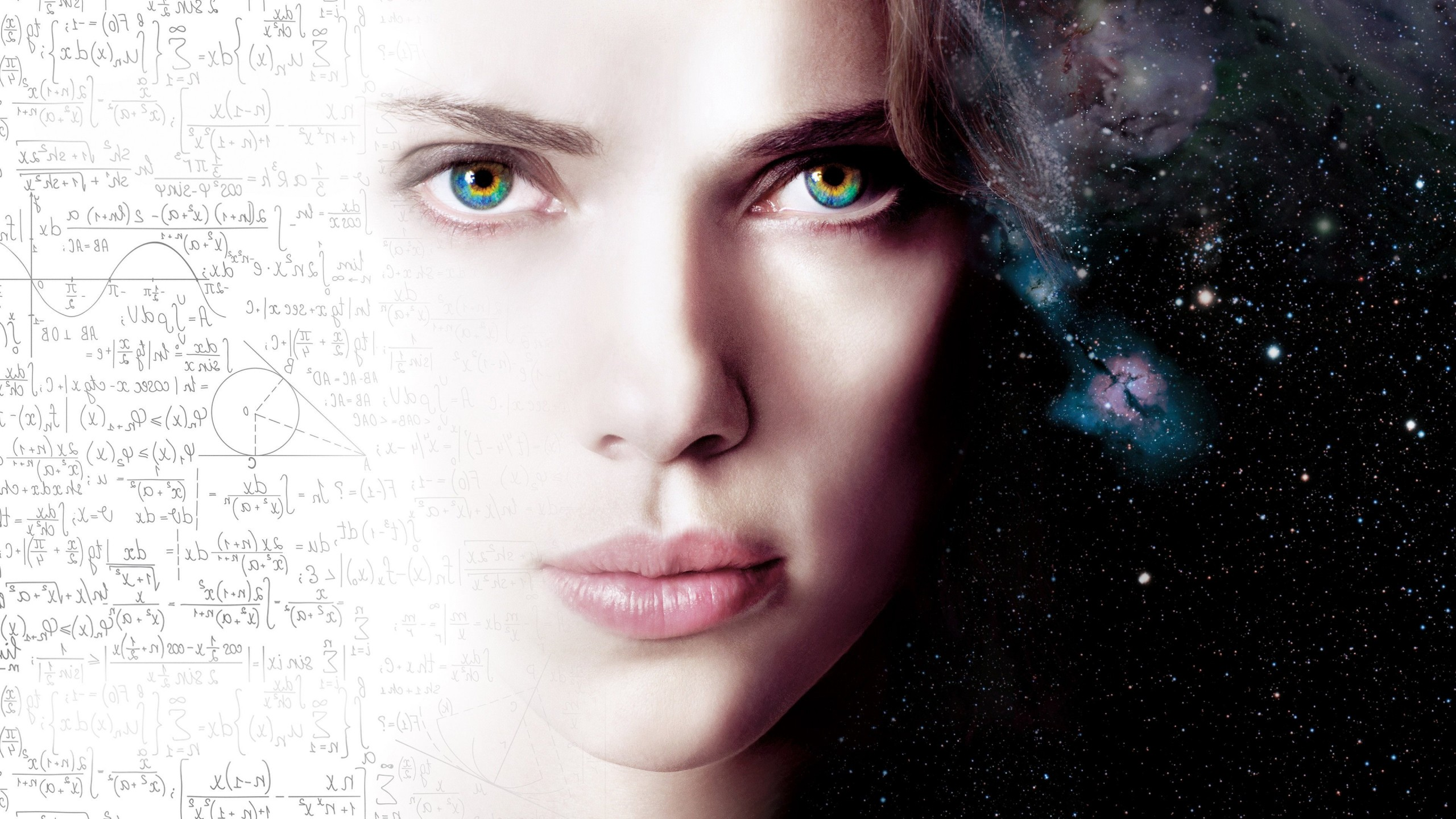 Scarlett Johansson As Lucy Wallpaper for Social Media YouTube Channel Art
