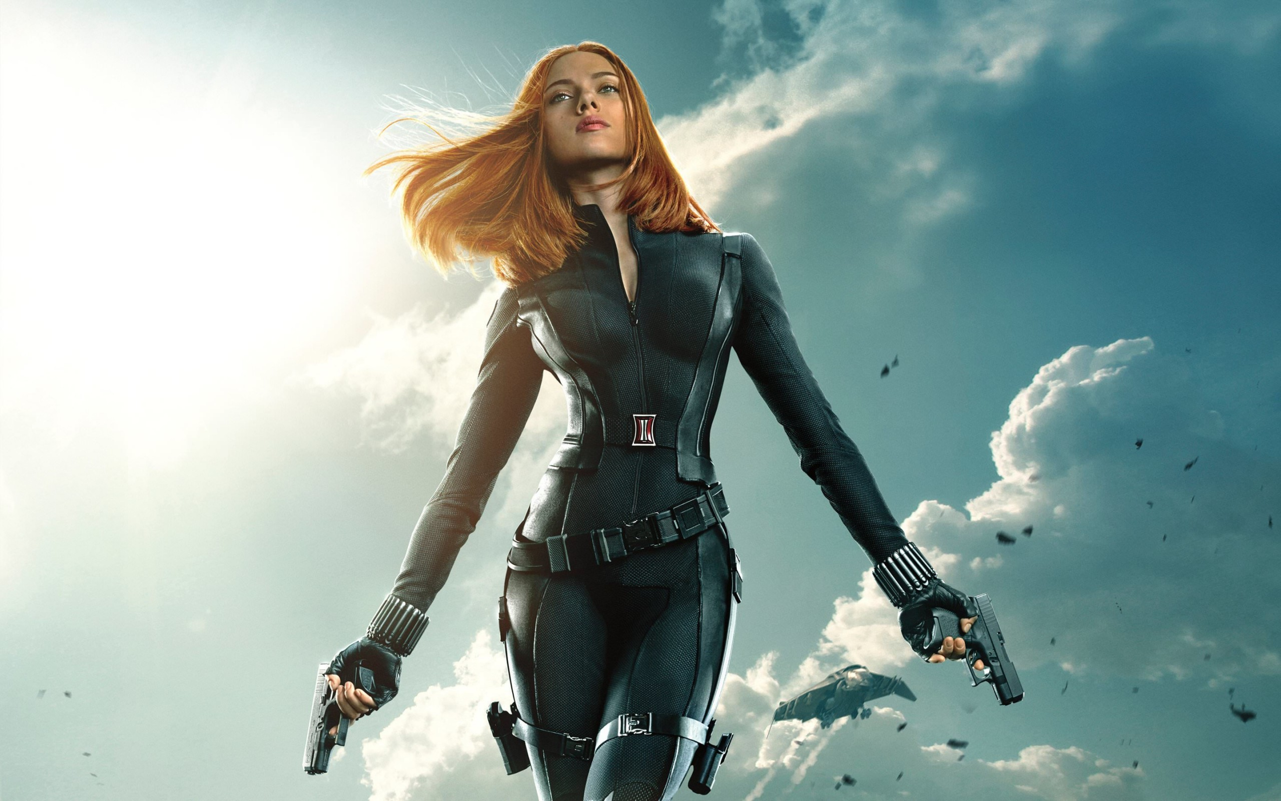"Download Scarlett Johansson in ""Captain America: The ... Scarlett Johansson Wallpaper"