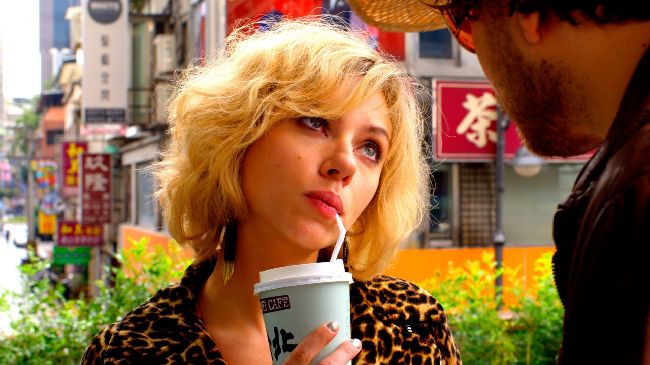 "Scarlett Johansson in ""Lucy"" Wallpaper for Desktop 1280x720"