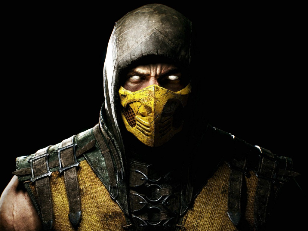 Scorpion Mortal Kombat X Wallpaper for Desktop 1024x768