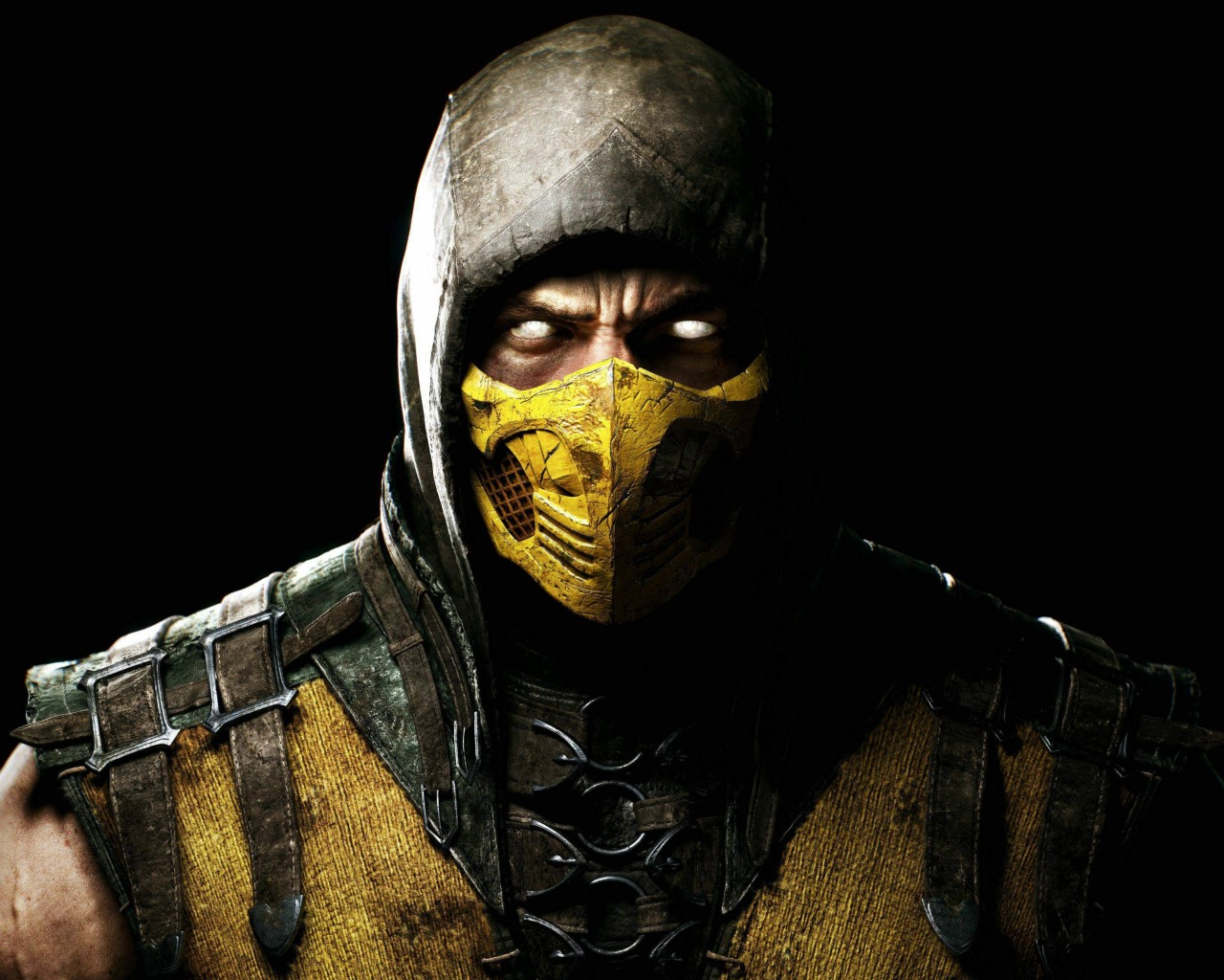Scorpion Mortal Kombat X Wallpaper for Desktop 1280x1024