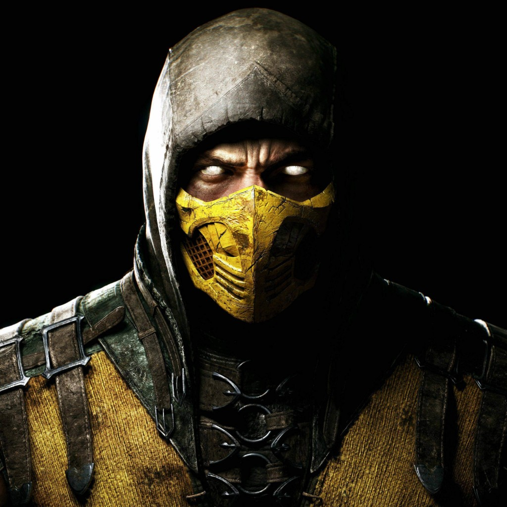 Scorpion Mortal Kombat X Wallpaper for Apple iPad 2