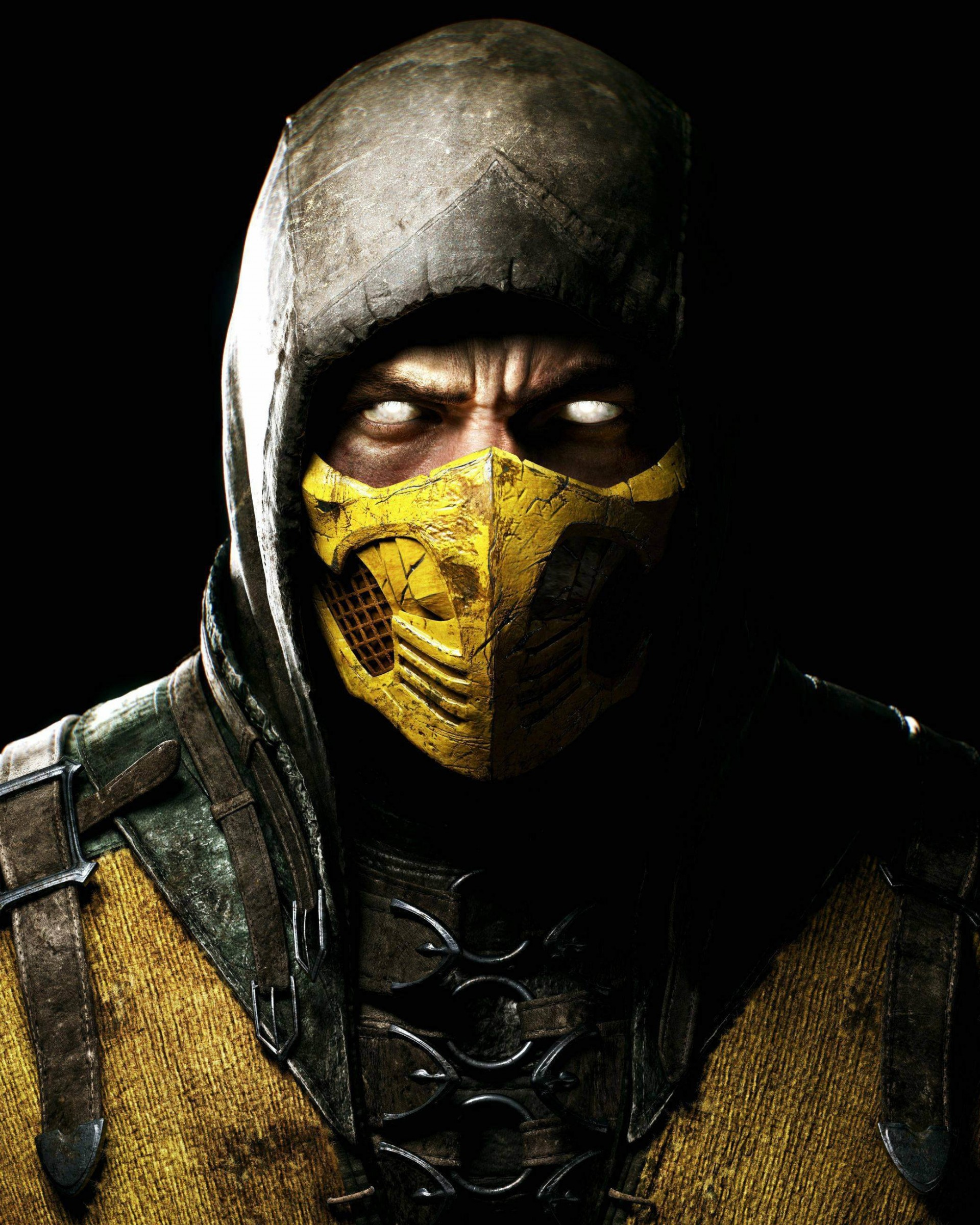 Scorpion Mortal Kombat X Wallpaper for Google Nexus 7