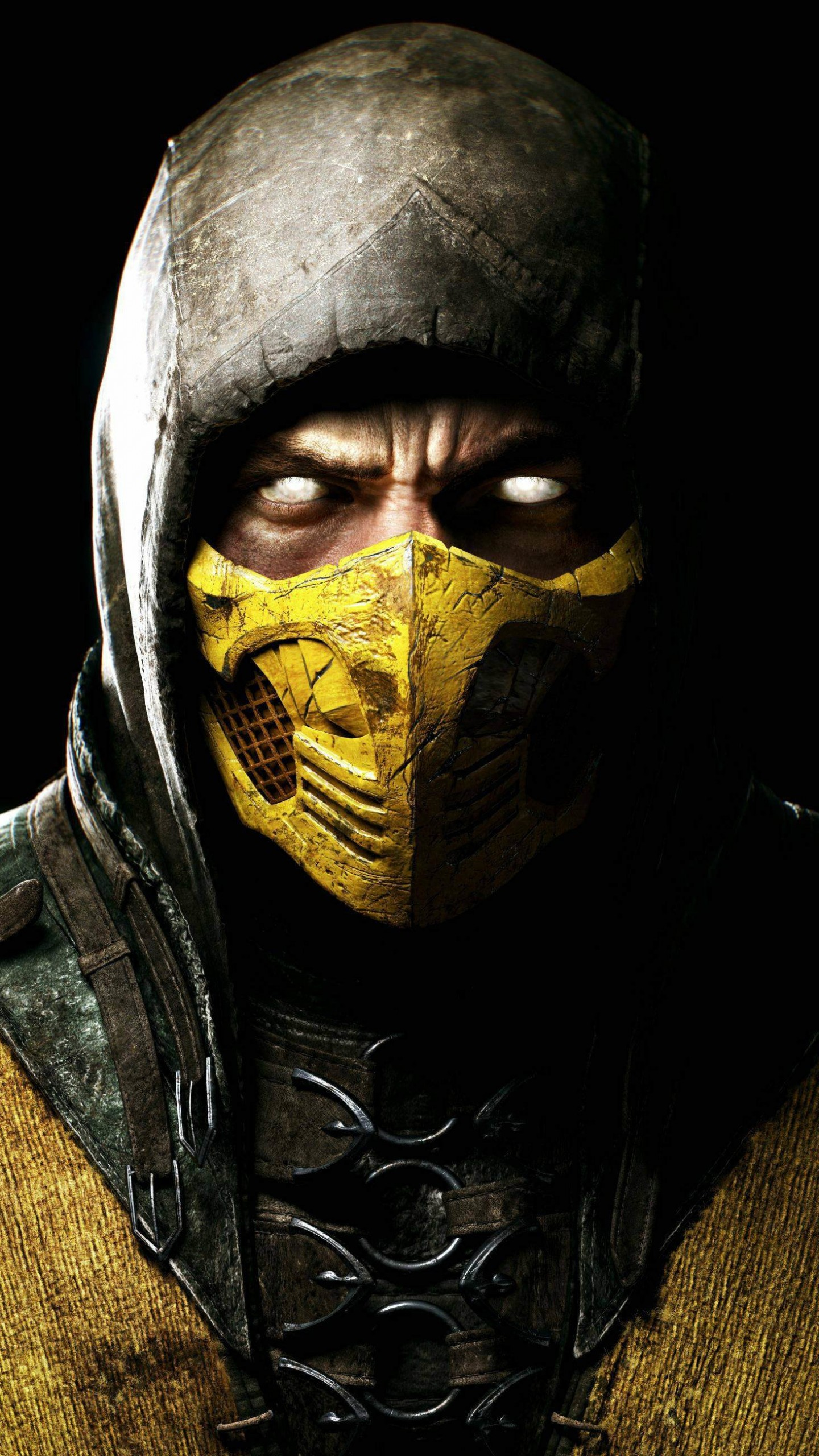 Scorpion Mortal Kombat X Wallpaper for SAMSUNG Galaxy S6
