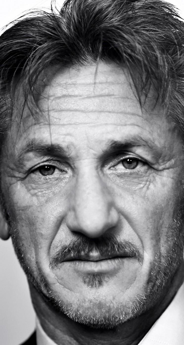 Hd wallpaper portrait - Download Sean Penn Portrait In Black Amp White Hd Wallpaper