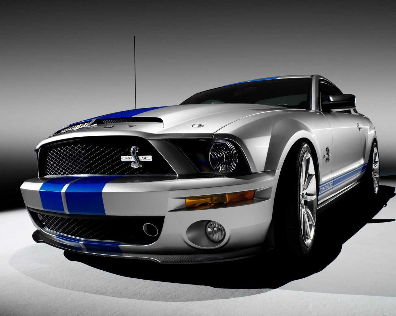 Shelby Mustang GT500KR Wallpaper for Desktop 1280x1024
