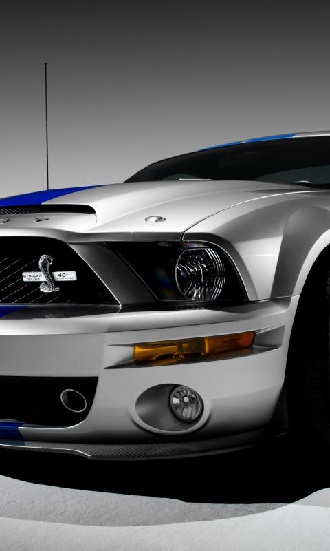 Shelby Mustang GT500KR Wallpaper for SAMSUNG Galaxy S3 Mini