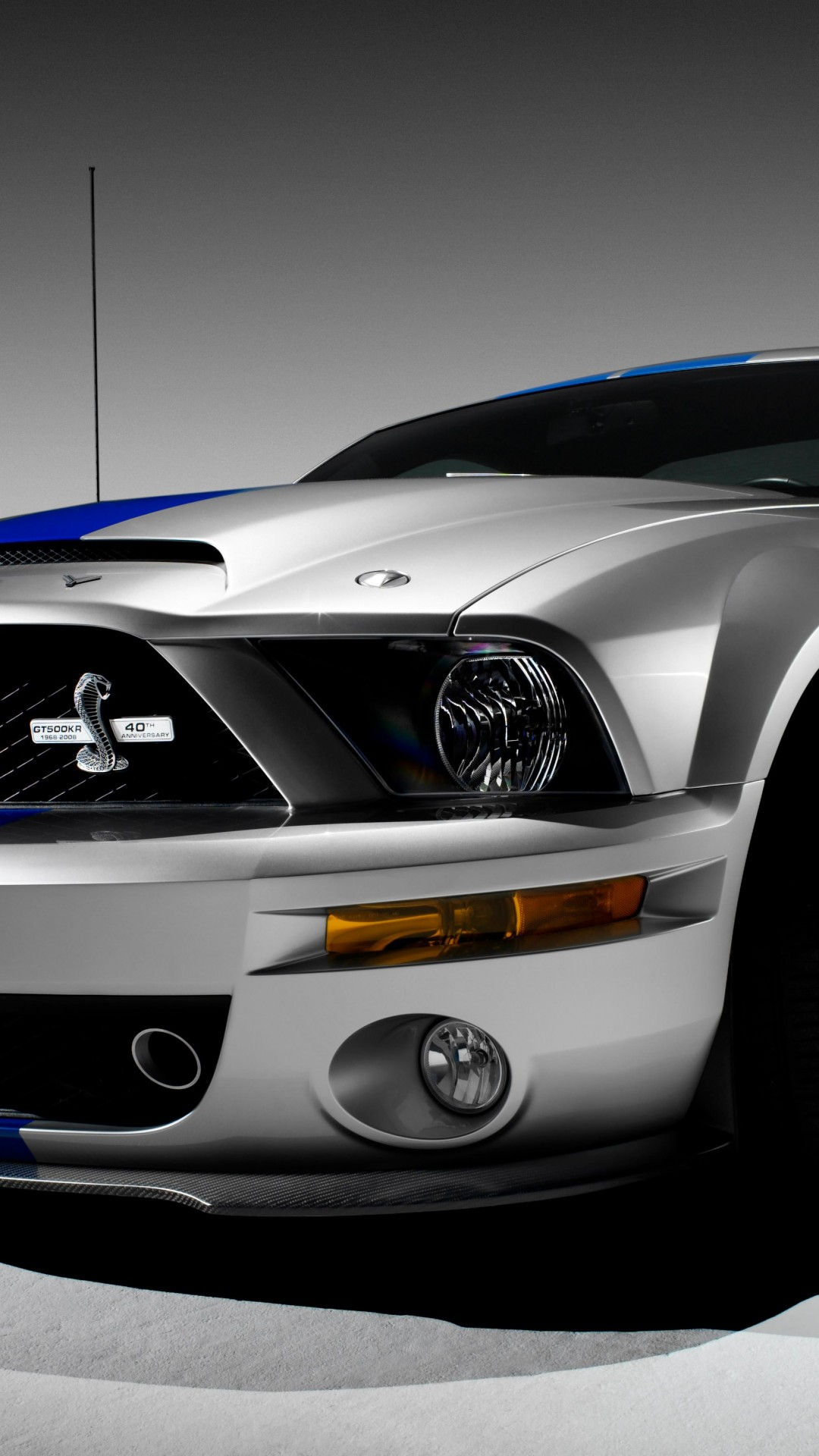 Shelby Mustang GT500KR Wallpaper for HTC One