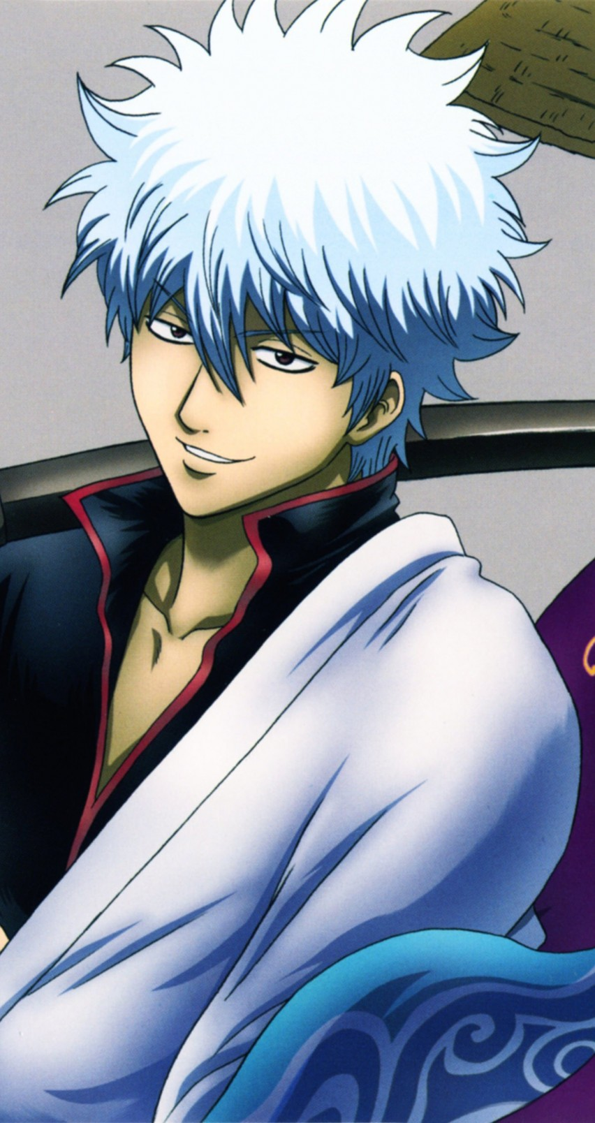 "Shinsuke Takasugi, Gintoki Sakata ""Gintama"" Wallpaper for Apple iPhone 6 / 6s"