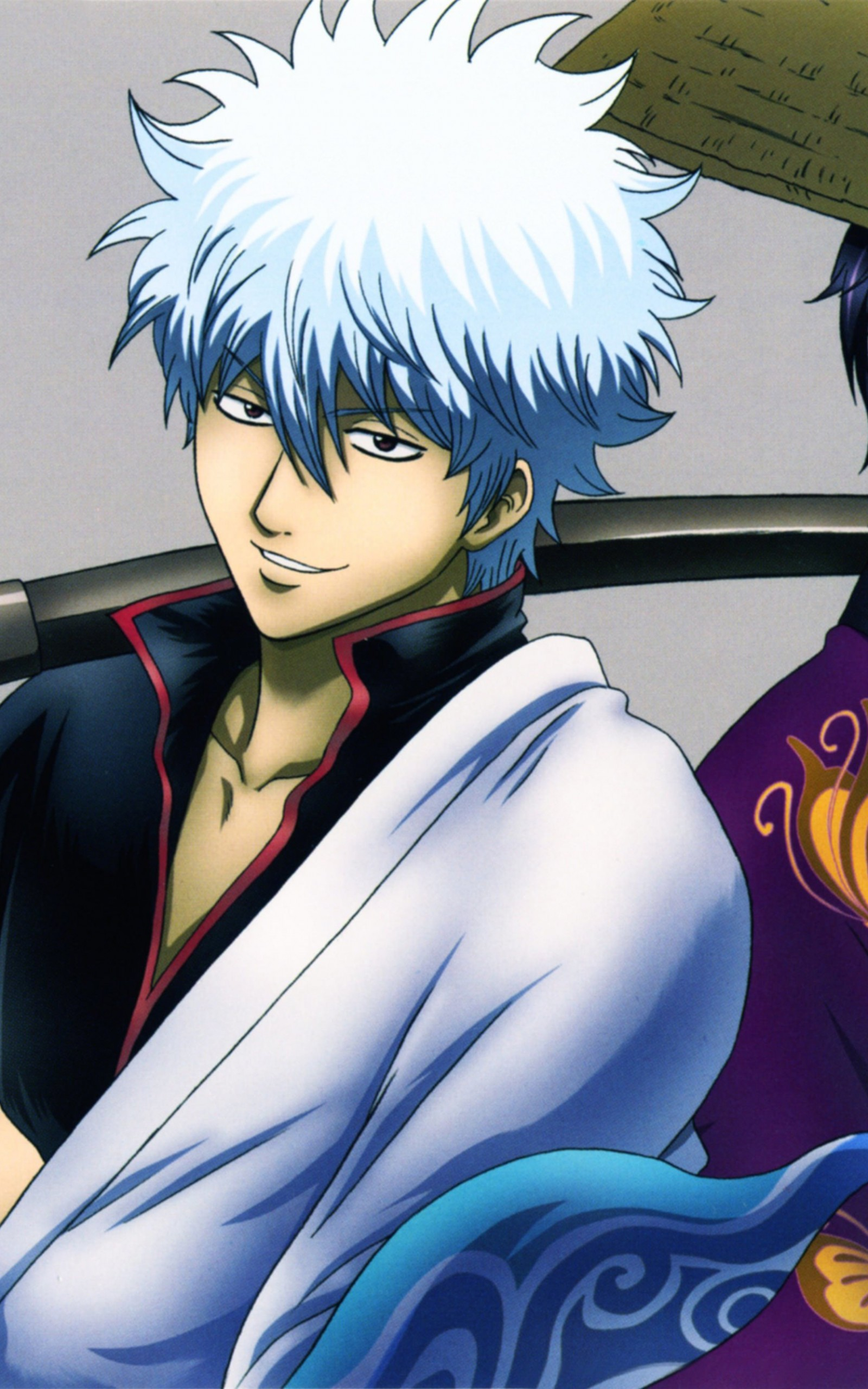 "Shinsuke Takasugi, Gintoki Sakata ""Gintama"" Wallpaper for Amazon Kindle Fire HDX 8.9"