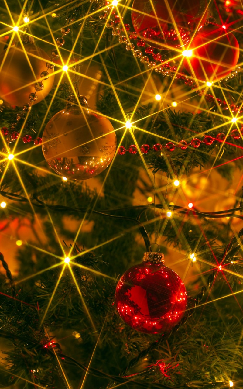 Shiny Christmas Wallpaper for Amazon Kindle Fire HD