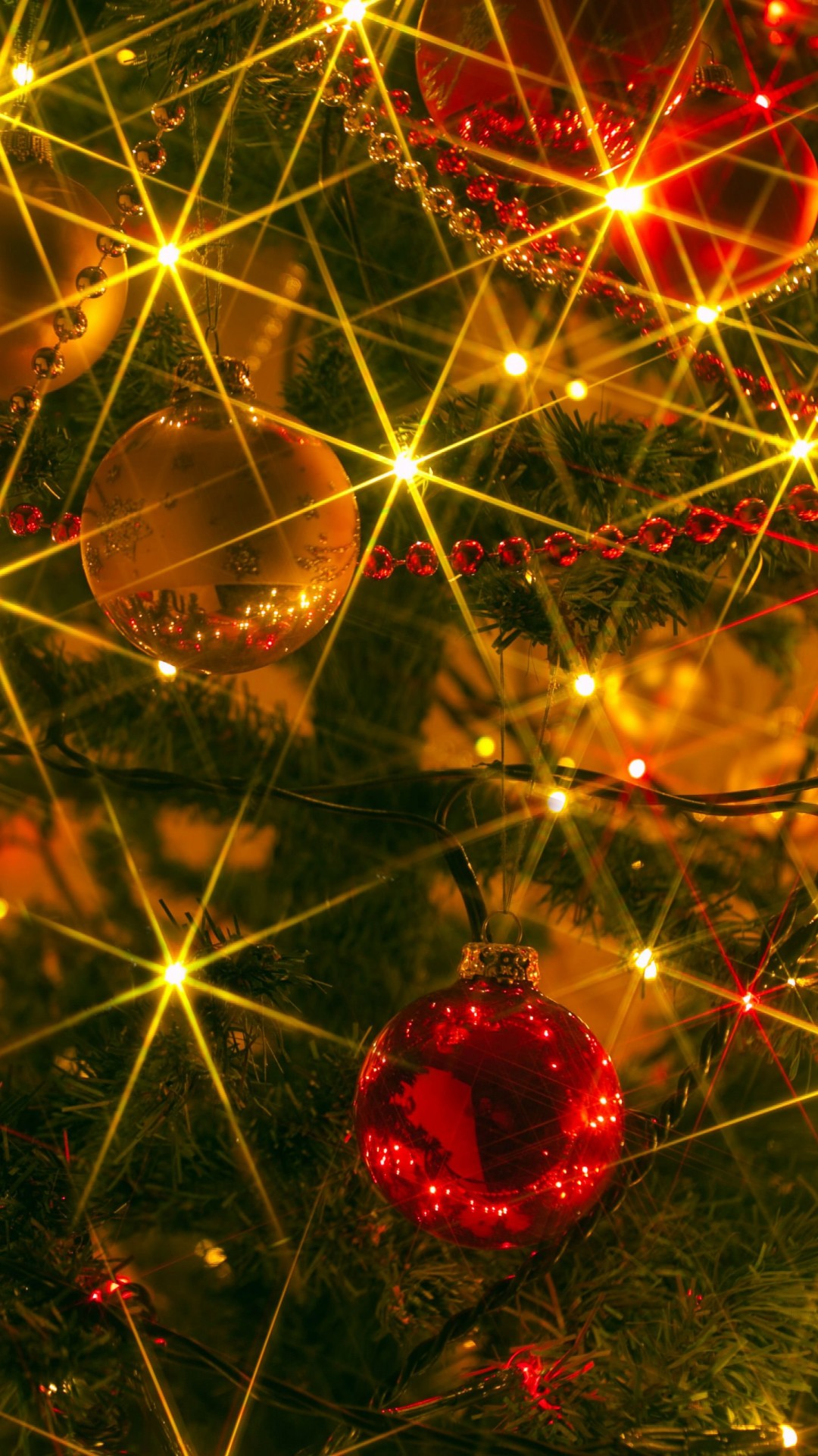 Shiny Christmas Wallpaper for SONY Xperia Z2
