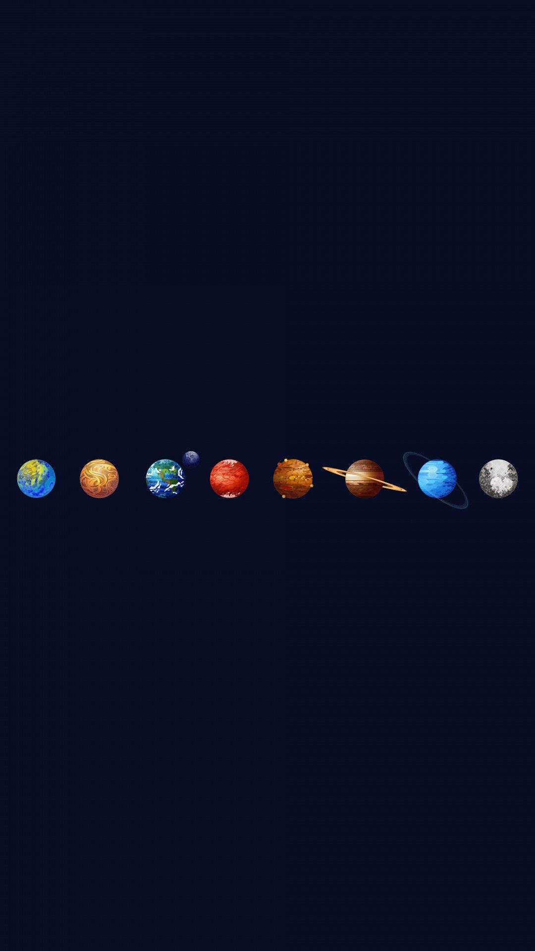 Solar System Wallpaper for HTC One