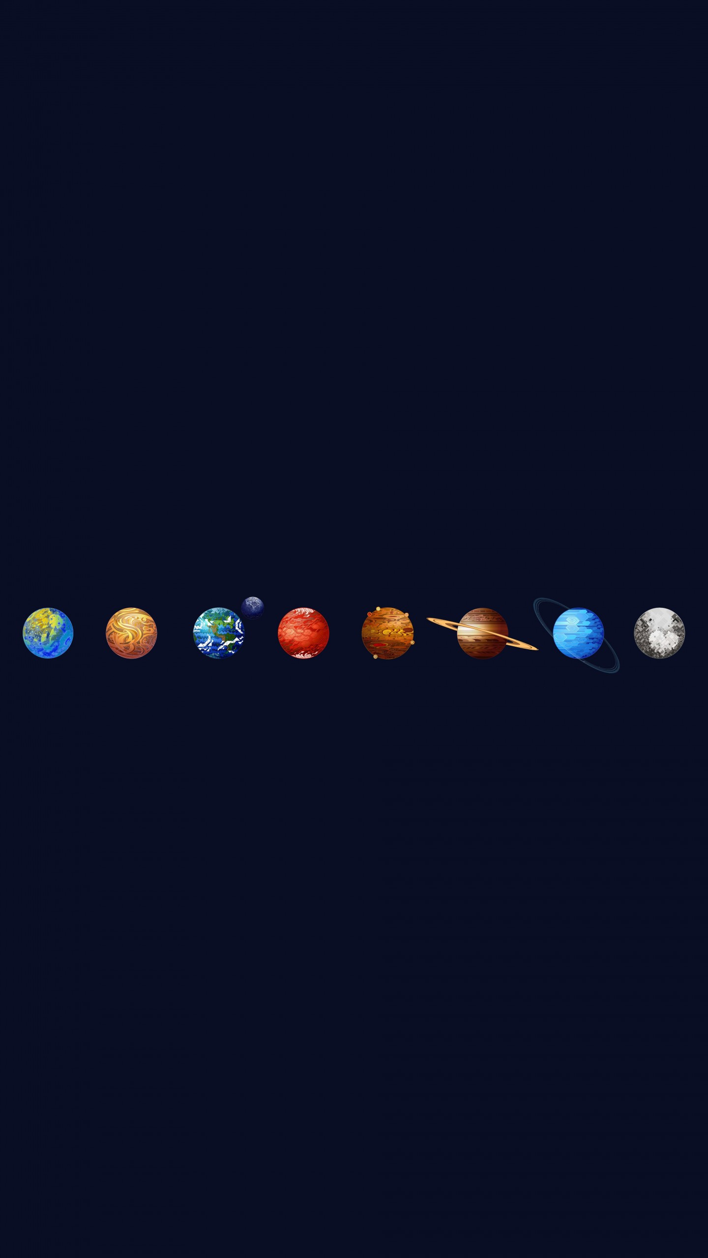 Solar System Wallpaper for SAMSUNG Galaxy S6