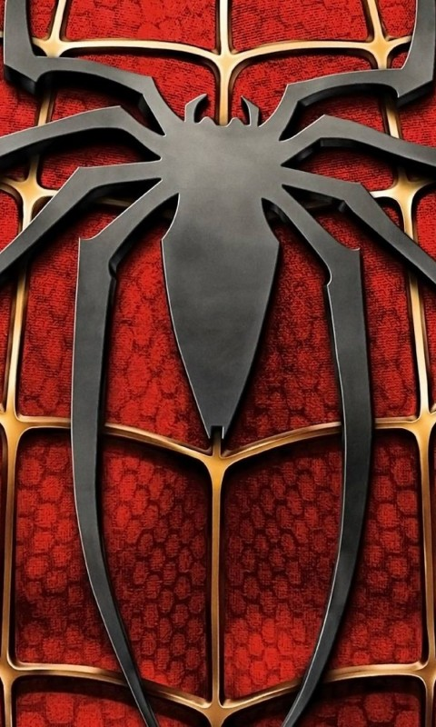 Spiderman Logo Wallpaper for HTC Desire HD
