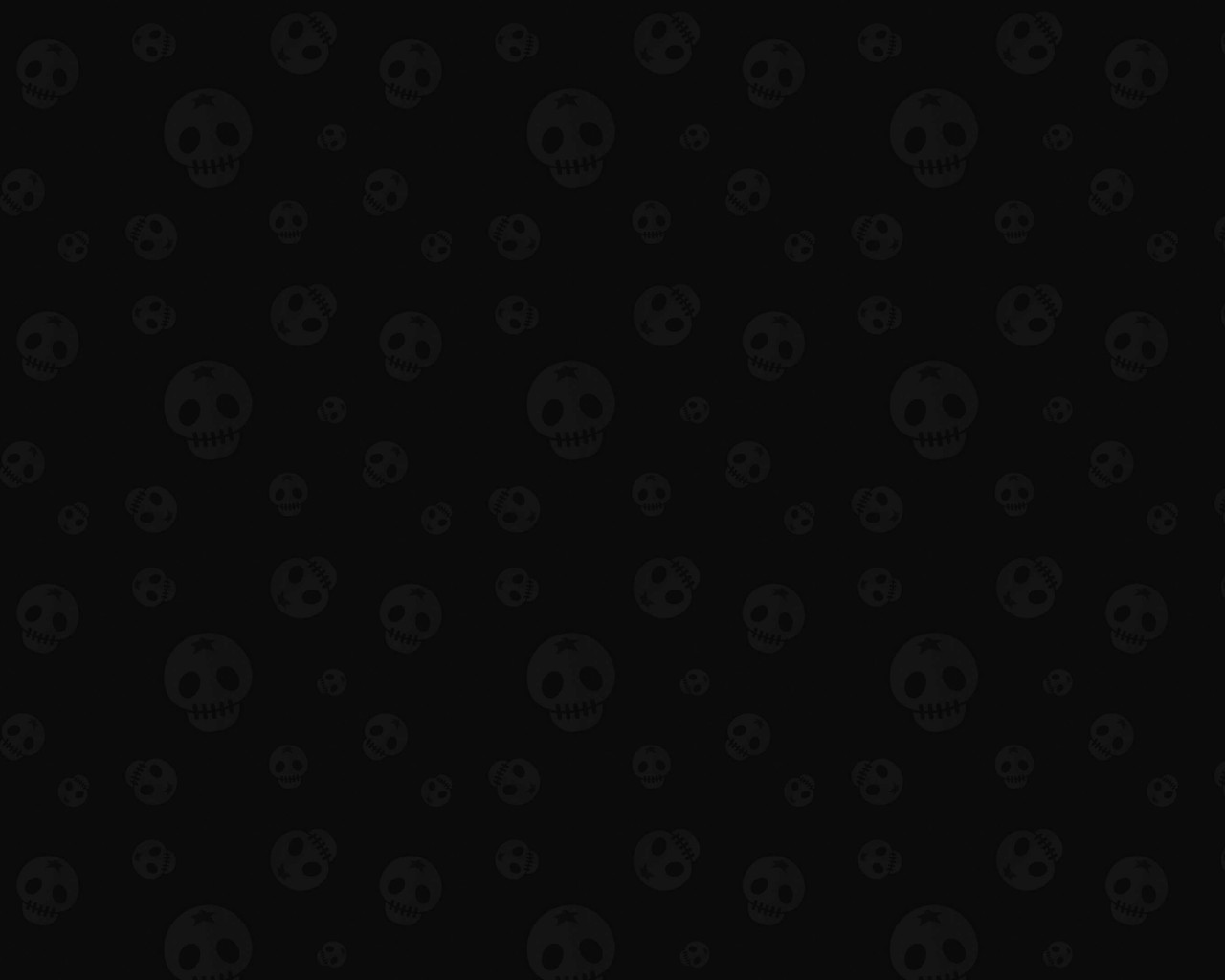 Star Skull Pattern Wallpaper for Desktop 1280x1024